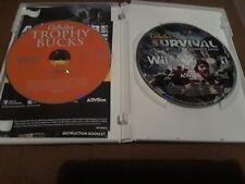 Cabela's Survival: Shadows of Katmai (Nintendo Wii, 2011)+Cabela's Trophy Bucks