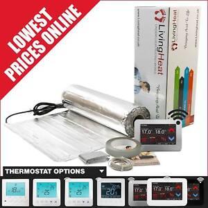 Under Wood Laminate & LVT Floor Heating Kit, 150w/m2 Underfloor Heating Foil Mat