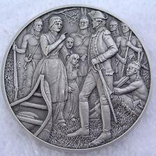 DAR Medal - HANNAH HUNTER HENDEE, Great Women Of The American Revolutionary War