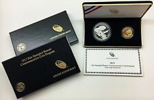 "2012 Star-Spangled Two-Coin Proof Set, $5 Gold & $1 SILVER    ""BU""     COA & BOX"