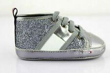 Tommy Hilfiger Babyschuhe Schuhe Sneaker Halbschuhe Silver Gr. 18