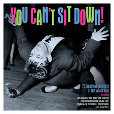 YOU CAN'T SIT DOWN (Various Artists) (75 Great Instrumentals Of The 50's-60 3CD