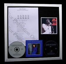 CLIFF RICHARD Devil Woman SUPER CD QUALITY MUSIC FRAMED DISPLAY+FAST GLOBAL SHIP