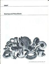 MRO Brochure - SKF - Bearings Pillow Blocks - Type Overview - c1977 (MR250)