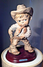 "Giuseppe Armani Retierd Figurine ""Cowboy"" Very Rare"