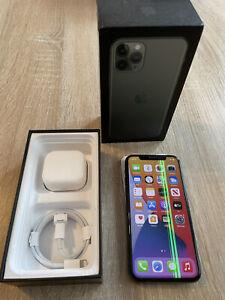Apple iPhone 11 Pro - 256GB - Midnight Green (Unlocked) A2215 (CDMA + GSM)
