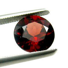 Untreated Round Cut Calibrated Size Natural Garnet Loose Gemstone