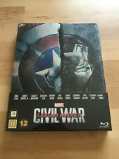 First Avengers Civil War Steelbook, Marvel Captain America - Deutsch, NEU OVP
