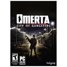 NEW Omerta: City of Gangsters (PC, 2013)