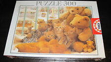 EDUCA JIGSAW PUZZLE 300 KITTENS TEDDY BEARS COMPLETE NEW