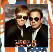 Brand New Live In 95 Elton John & Billy Joel 95 Concert Tour Booklet