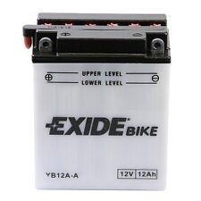 Batterie Moto KAWASAKI 400 KZ400 Deluxe Yuasa YB12A-A 12v 12Ah