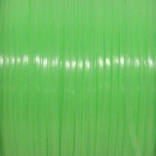 100 YARDS (91m) SPOOL GLOW GREEN REXLACE PLASTIC LACING CRAFTS CYBERLOX