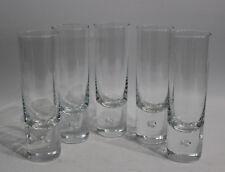 5x Design Gläser Kosta Design V. Lindstrand Pippi Longdrink-Glas / Bierglas 60s