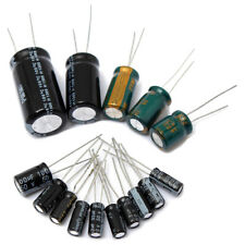 120Pcs 15 value 50V 1uF-2200uF Electrolytic Capacitor Assortment Kit Set A3U7