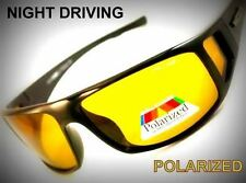 Night Driving vision HD Glasses Prevention Yellow Driver Sunglasses polarized TT