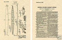 TOM BLAKE SURFBOARD US PATENT Print READY TO FRAME!!!! 1932 surf board paddle