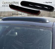 Volvo S60 2001-2011 5pcs Wind Deflector Outside Mount Visors & 3.0mm Sunroof
