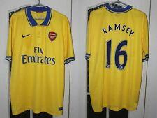 Arsenal London 2013 2014 Ramsey Nike Away Shirt Jersey Trikot Size XL