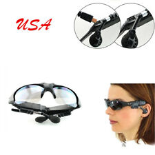 US Phone/Tablet PC Sunglasses Bluetooth Stereo Music Headphone Wireless Flip-up