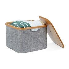 stoffbox mit deckel g nstig kaufen ebay. Black Bedroom Furniture Sets. Home Design Ideas