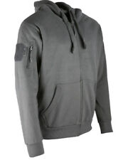 Kombat Marroncino Spec-Ops Felpa con Cappuccio Deluxe Zip Caldo Pullover Esterni