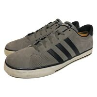 Adidas Mens Neo SE Daily Vulc Sneakers Gray G31795 Low Top Lace Up Shoes Size 12