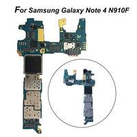 Original Echtes Main Motherboard für Samsung Galaxy Note 4 N910F(32GB Unlocked)