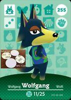 Wolfgang NFC Tag/Coin Amiibo Card Animal Crossing New Horizons! Free Shipping!