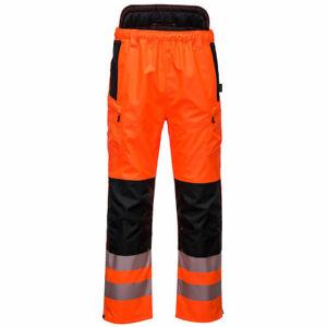Portwest PW3 Hi-Vis Extreme Waterproof Work Trouser RIS 3279 -PW342