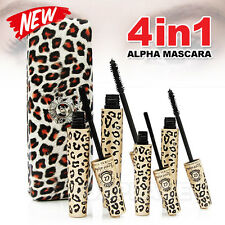 4X Premium Fibre Leopard Mascara Brush Love Alpha Natural Transplanting Gel Set