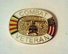 """Vietnam Combat Veteran Hat Pin    1"""""""