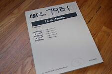 Caterpillar DP100N1 DP120N1 DP135N1 DP150N1 DP160N1 Forklift Parts Manual book