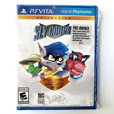 Sly Cooper Collection (Sony PlayStation Vita, 2014) Resealed