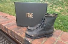 Frye Veronica Combat stone wash boots size 8.5 new