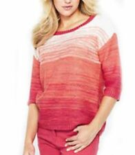 Women's 3/4 Sleeve Waist Length Acrylic Jumpers & Cardigans