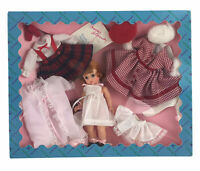 """Vintage Madame Alexander Doll 8"""" Wendy Loves Being Loved Doll Set Outfit Redhead"""