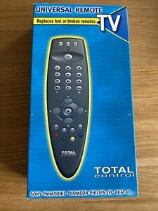 TOTAL CONTROL Universal Remote for any TV Philips Samsung LG Panasonic Benq etc.