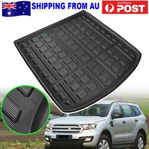 Heavy Duty Waterproof Trunk Mat Cargo Boot Liner For Ford Everest SUV 15-20
