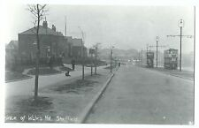 Prince Of Wales Rd, Sheffield, Shows Cars 44 & 10 PC Size Repro Photo