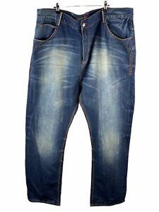 Coogi Australia Men's Denim Jeans Size 46 Blue Casual Zip Close with Pockets