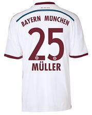 Trikot Adidas FC Bayern 2014-2015 Away - Thomas Müller [164 bis XXL] FCB