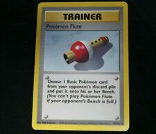 Pokemon Pokemon Flute Trainer 86/102 Base Set Card, Mint