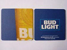 Budweiser Bud Light Beermat Coaster 3