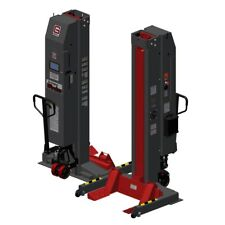 GRAY WPLS-190 (4) 74,000 lb capacity wireless mobile column lift (US MADE)