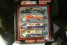 RARE RACING CHAMPIONS ~ NASCAR ~ 4 semi COLLECTORS EDITION SET