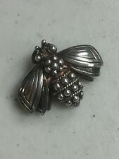TIFFANY & CO VINTAGE STERLING SILVER BUMBLE BEE PIN