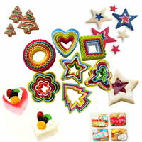Cake Biscuit Cookie Cutter Mold Pastry Fondant Baking Tool 7 Shape Select