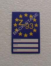 BIGLIETTI PASS BACK STAGE- U2 - ZOOROPA  TOUR 1993,BACKSTAGE MILANO