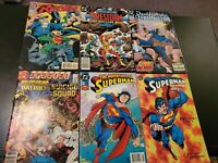 Dc Comic Book Lot - Superman, Doom Patrol and Suicide Squad, Robin, Firestorm+